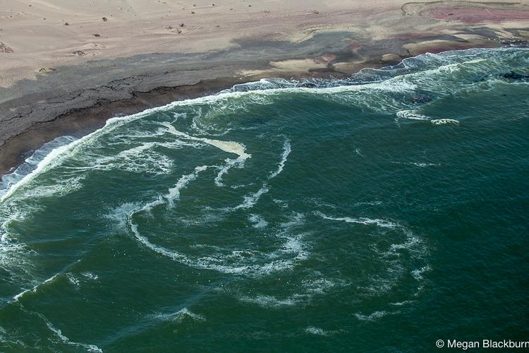 Hoanib Coast from the Air