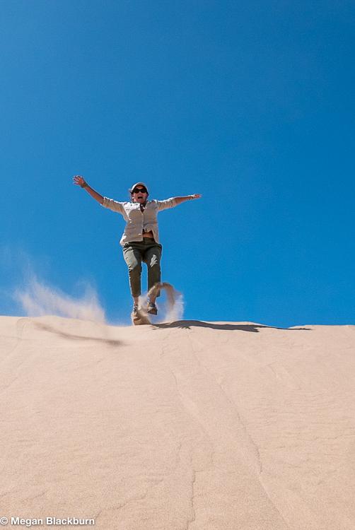 Hoanib Megan Jumping
