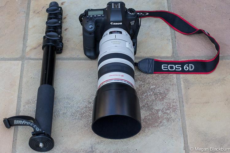 Photo Tips Camera and Monopod